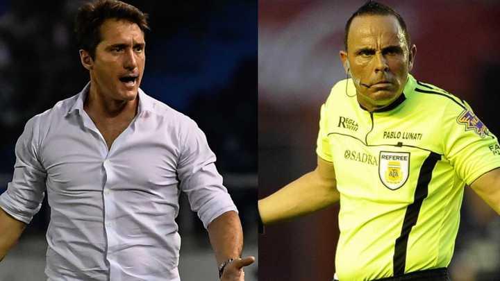 Pablo Lunati le pegó fuerte a Guillermo