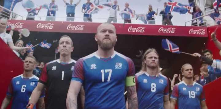 El comercial que dirigió el arquero de Islandia