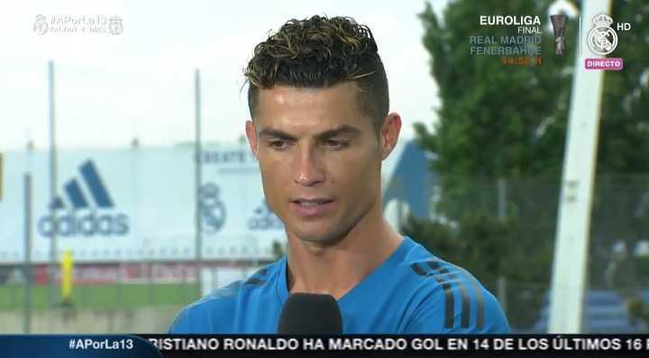 Cristiano habló sobre la final de la Champions