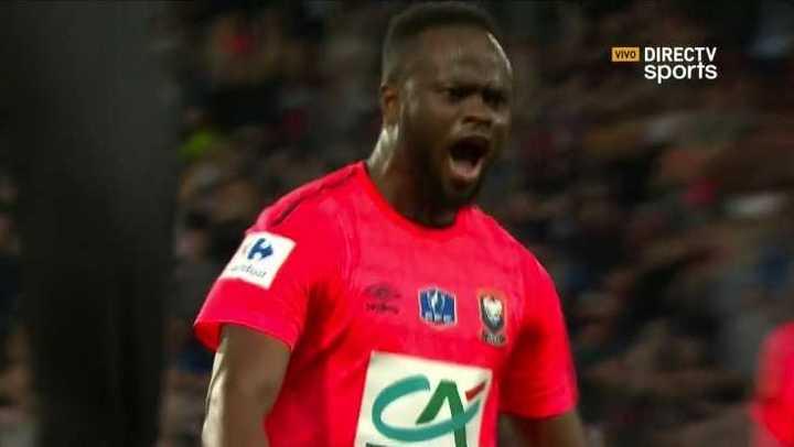 Llegó el empate para Caen