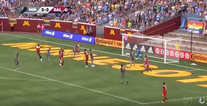 El triunfo de Dallas sobre Minnesota en un partido muy especial