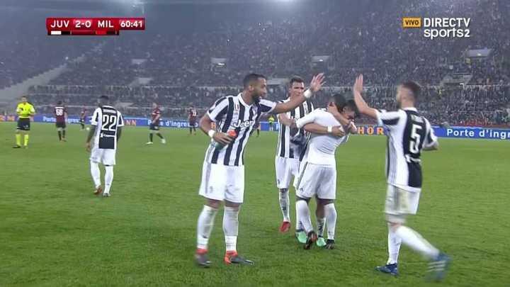 Costa anotó el segundo