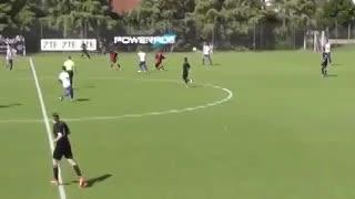 El golazo de Ariel Muñoz en Vélez vs. Colón.
