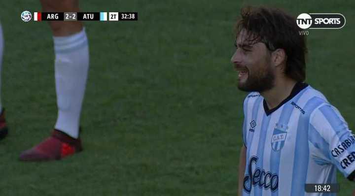 García metió, en contra, el gol del empate