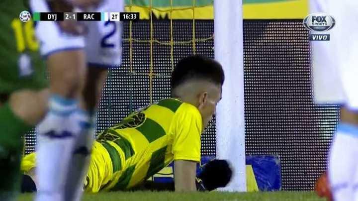 Unsain evitó un gol cantado