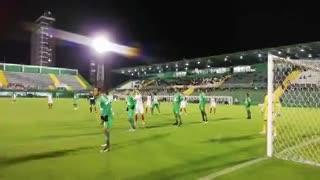 Así fue el gol de Paulo Díaz ante Chapecoense (Fuente: @SanLorenzo)