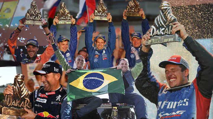Los últimos ganadores del Dakar