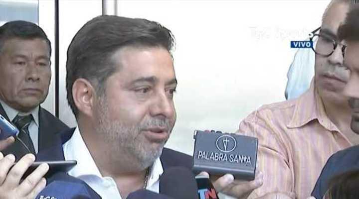 Angelici habló de D'Onofrio y Macri