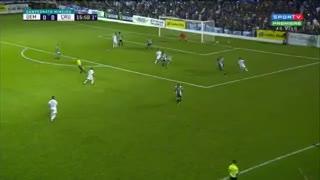 El primer gol de Mancuello en Cruzeiro