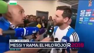 Rama Pantorotto y un momento especial con Messi