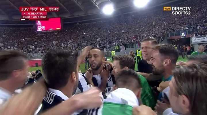 Juventus abre el marcador