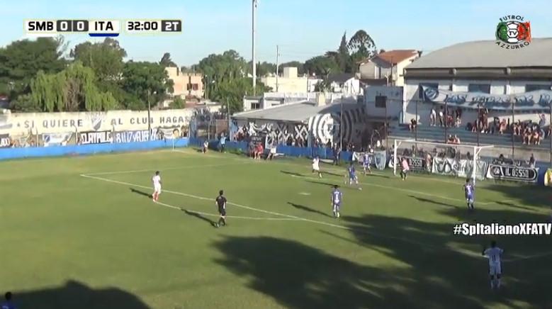 El gol de San Martín (B) sobre Italiano