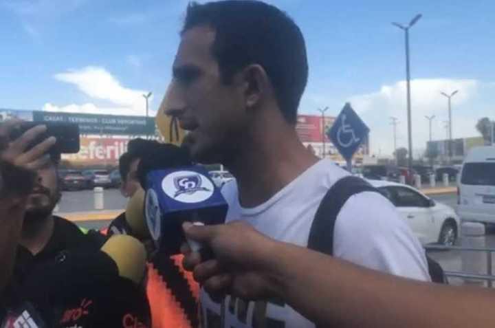 Izquierdoz se despidió de Santos
