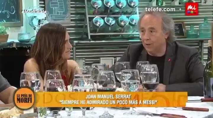 Serrat dio su opinión sobre Messi