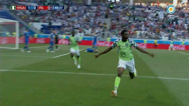 Nigeria metió el primero