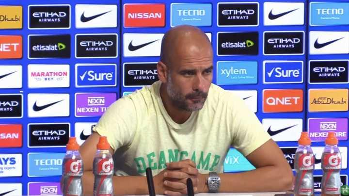 Guardiola desmintió y criticó a Tapia