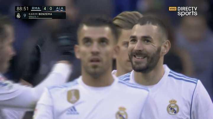 Benzema anotó el suyo de penal