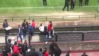 Incidentes en Colón-Rosario Central por la Copa Santa Fe