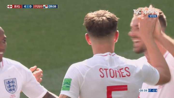 Otro gol más y una aplastante actuación de Inglaterra