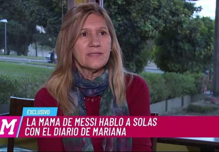 Madre de Messi lamneta crítcas a su hijo