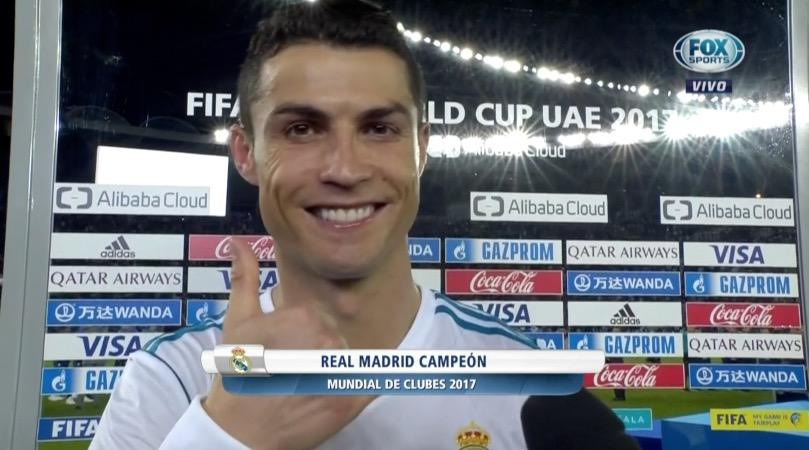 Las declaraciones de Cristiano luego de ganar el Mundial de Clubes
