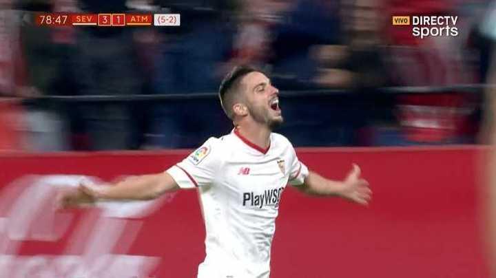 El Sevilla marcó el tercero