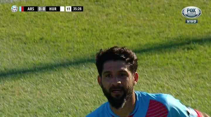 Arsenal y Huracán no se sacaron ventaja en el calor de Sarandí