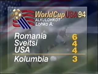 El gol en contra de Escobar en 1994
