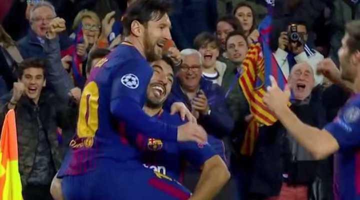 Messi abrió el marcador