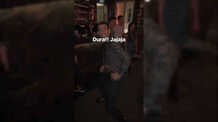 Así baila Ángel Di María al ritmo del