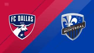 El resumen de Dallas 2-Montreal Impact 0 (gol de Mauro Díaz de penal)