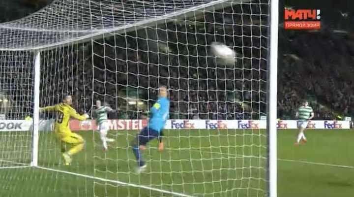 McGregor puso el 1 a 0 para el Celtic