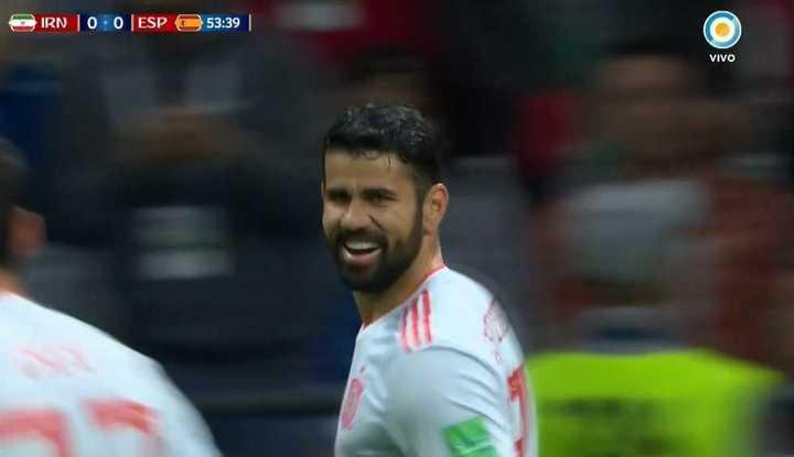 Costa rompió el cero para España