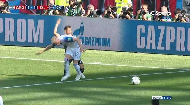¿Fue penal para Argentina?