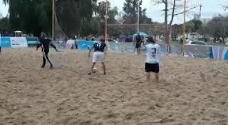 Huracán le ganó a Escobar con este gol