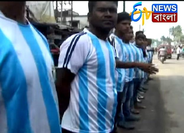 Los indios 'argentinos' que recibieron a Maradona