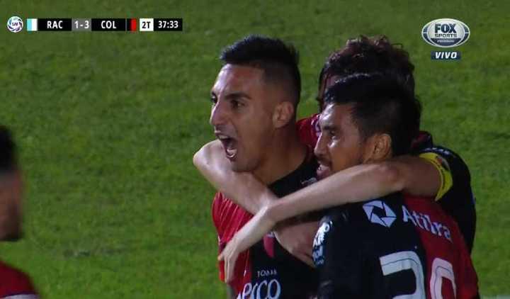 Correa marcó el 3 a 1 para Colón
