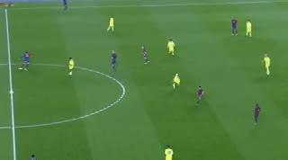 El golazo de Messi a Lloris