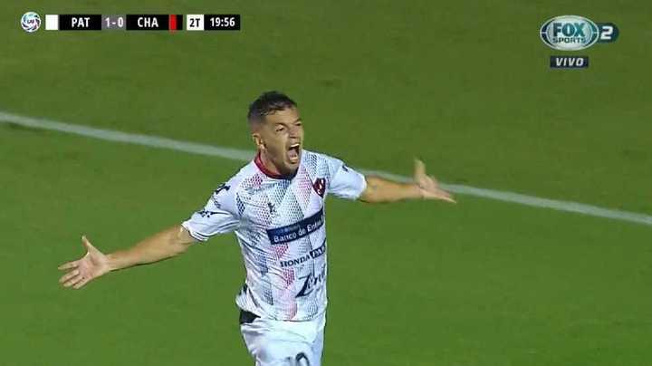 Garrido marcó el 2 a 0 de Patronato