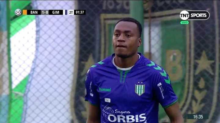 Arboleda le ahogó el grito de gol a Gimnsia