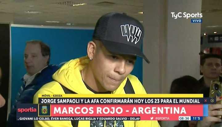 Marcos Rojo: