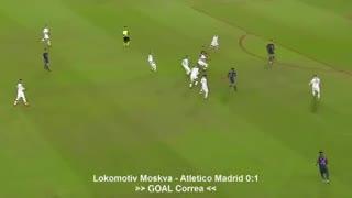 El gol de Correa al Lokomotiv