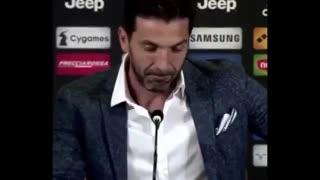 Las lágrimas de Buffon en su conferencia despedida