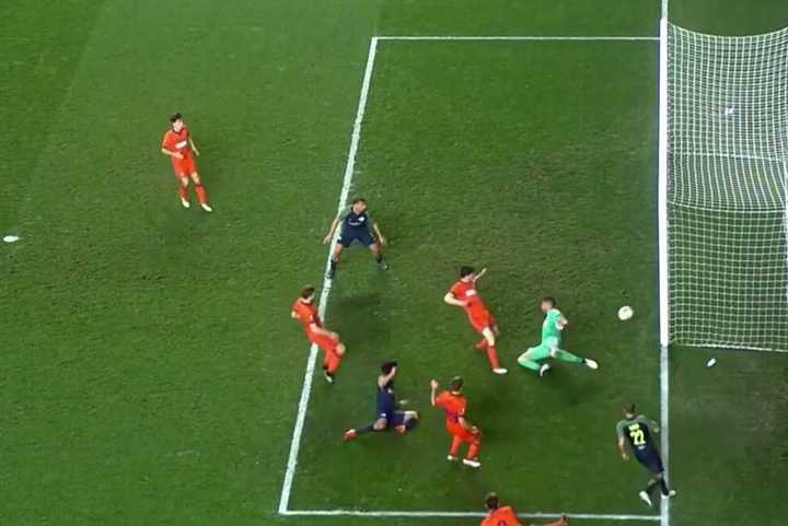 El segundo gol a Rulli
