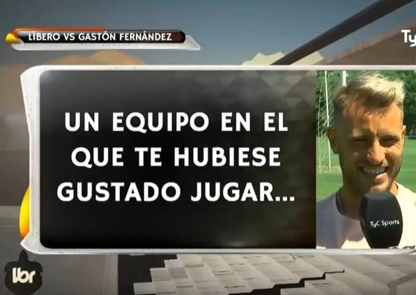 El ping pong de preguntas a Gastón Fernández