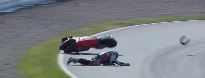 El accidente de Espargaró