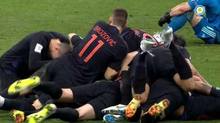 Los penales de Rusia 2 - Croacia 2