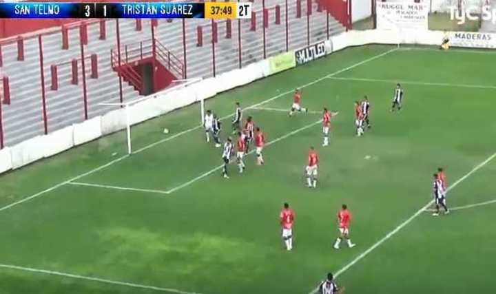 Los goles de San Telmo 3 - Tristán Suárez 3