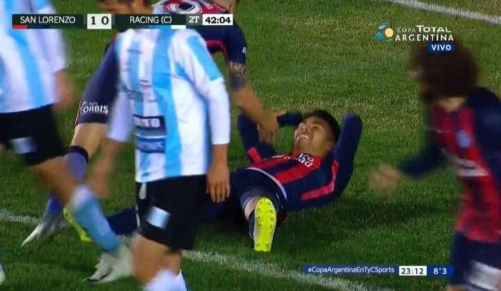 Díaz se perdió el segundo