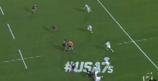 Con este try, la Argentina consumó su victoria ante Nueva Zelanda